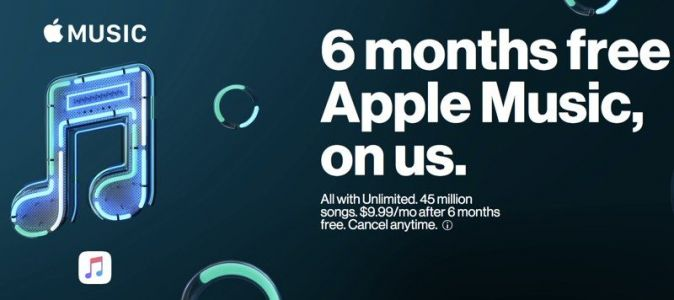 Verizon Subscribers With Unlimited Plan Can Now Sign Up for Six Free Months of Apple Music
