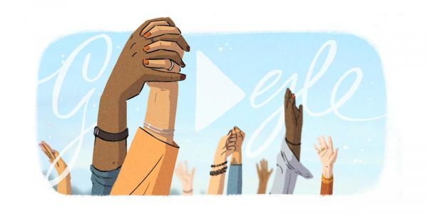 Google Doodle celebrates women's first for International Women's Day 2021