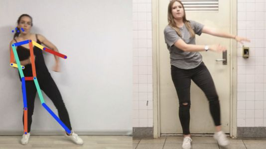 Google Move Mirror matches your poses to photos as you dance for your webcam