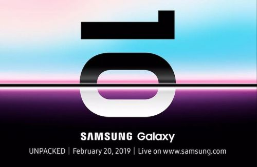 Samsung Announces Galaxy S10 Event on February 20 in San Francisco, May Include Foldable Smartphone