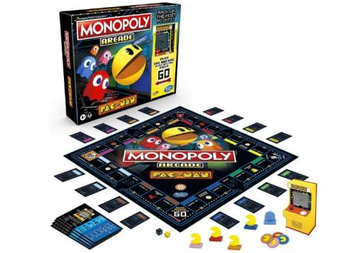 Pac-Man Monopoly now available for $30