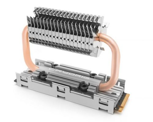 Cryorig Set to Reveal the Dual Heatpipe Frostbit M.2 SSD Cooler