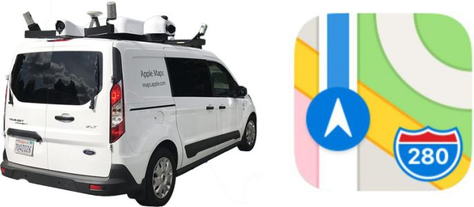 Apple Maps Vehicles Begin Collecting Street-Level Data in Japan