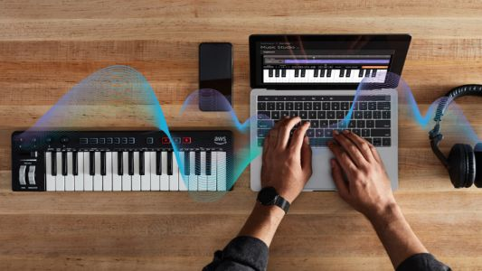 Amazon's new AI keyboard could compose hit pop songs in the future