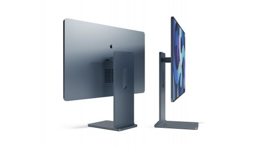 Concept imagines new iMac design inspired by iPad and Pro Display XDR