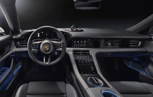 Porsche finally shows the interior of its new electric car
