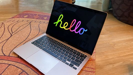 Apple Adds New 'Hello' Screen Saver in macOS Big Sur 11.3