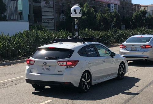 New Apple Maps Cars Spotted in Los Angeles