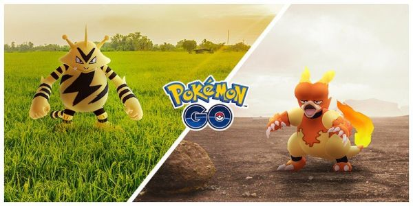Electabuzz and Magmar will each have a Community Day in November 2020