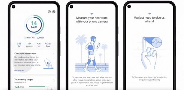 Google Fit starts rolling out camera-based tracker for Pixel devices