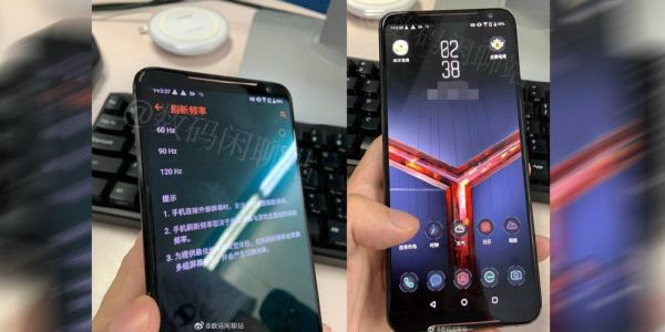 Asus ROG Phone 2 hands-on images leak showing 120Hz display, no notch, more