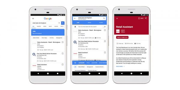 Google's handy job search tool is now available in the UK