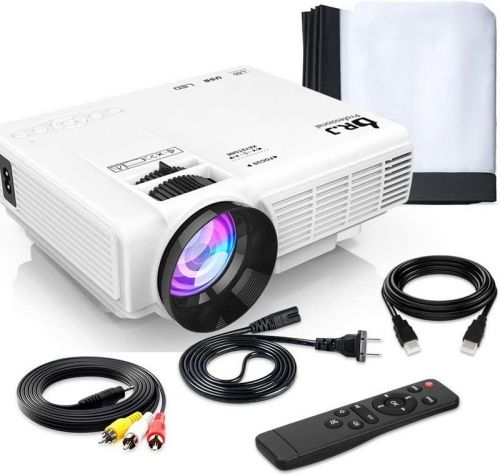 Last chance to get this best-selling mini outdoor projector for Prime Day