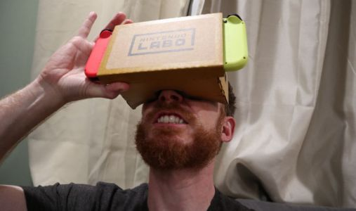 "Nintendo Labo VR review: There's no ""Nintendo magic"" inside these lenses"