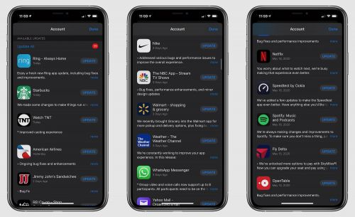 Apple Reissuing Numerous iOS App Updates, Potentially Related to Recent 'This App is No Longer Shared' Bug