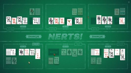 Nerts! is the free, pleasant six-player card game we could all use right now