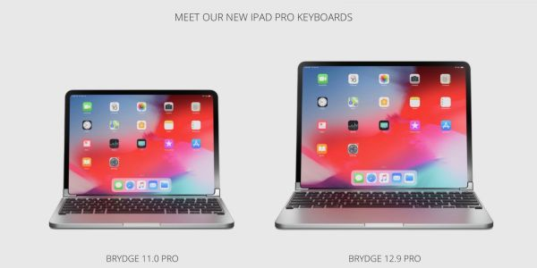 Brydge's new MacBook-style iPad Pro keyboards now available for pre-order