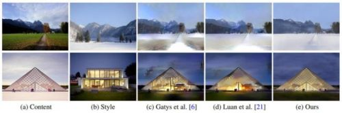 NVIDIA's AI Can Apply One Photo's Style To Another