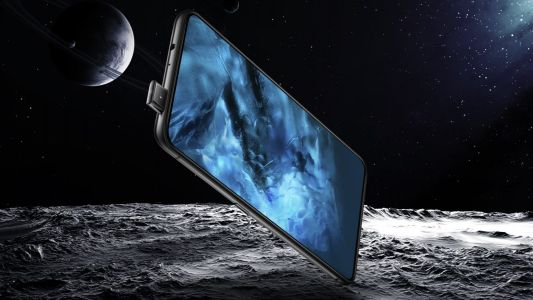 This is the Vivo NEX and its elevating camera