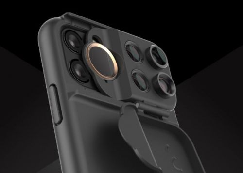 IPhone 11 camera lens case offers ultrawide, macro, telephoto and fisheye