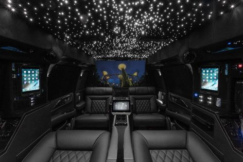 Hyper-Luxury 2019 Cadillac Escalade Retrofitted With Multiple iPad Pros, Mac Mini, 48