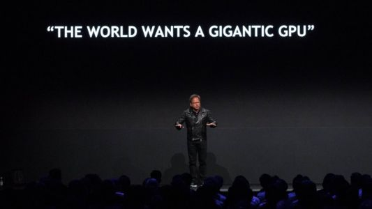 Nvidia builds 'fastest single computer humanity has ever created'