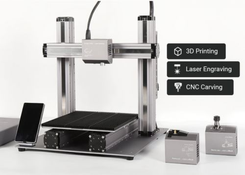 Snapmaker 2.0 modular 3D printer, engraver and CNC