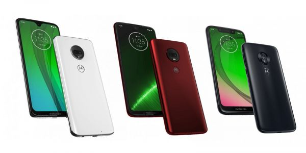 Motorola G7 series press renders leak alongside proposed European pricing