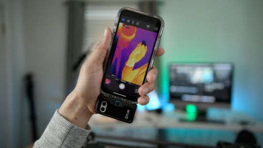 Hands-on: 'Flir One Pro' turns your iPhone into a thermal imaging camera that's helpful for homeowners