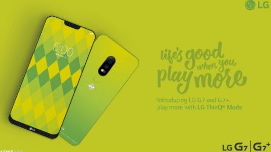 LG G7 Neo Concept Sports Dual Cameras, Display Notch: Video