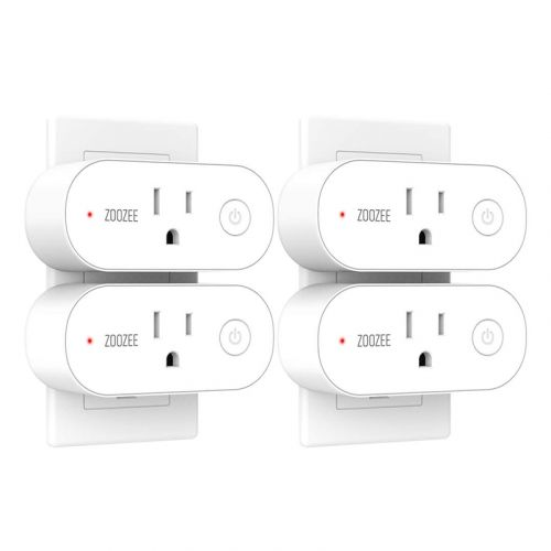 Step into home automation with four Zoozee Mini Smart Plugs at just $8 each
