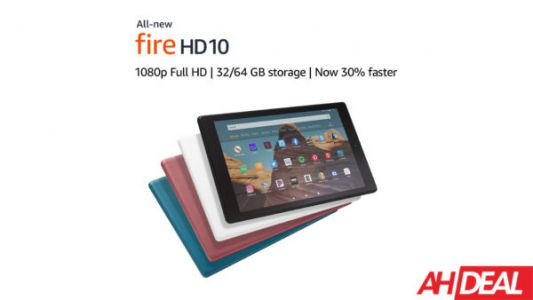Save $50 On Amazon's Best Selling Fire HD 10 Tablet