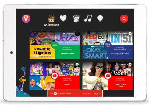 YouTube Kids app adds parental control, older kids' content