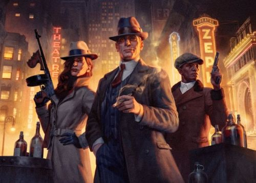 Empire Of Sin crime boos strategy game now available