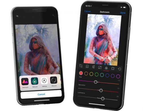 Darkroom for iOS Gains Photo Editing Extension, Drag & Drop, and Files App Support