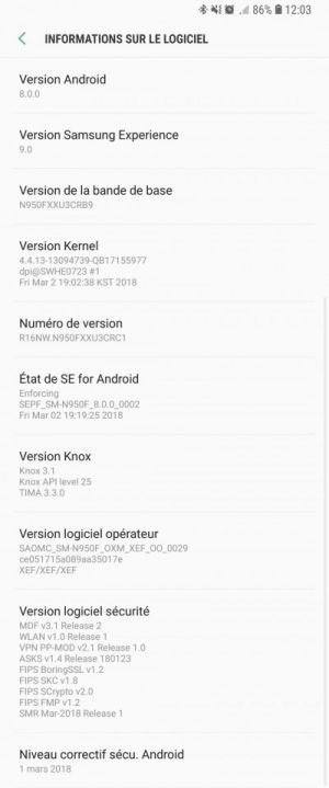 Samsung Galaxy Note 8 reportedly received Android 8.0 Oreo in France
