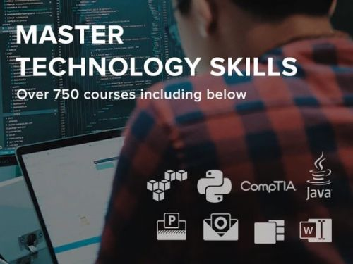 Complete Tech Skills Library - Cert, Office, ITPro, Developer & CompTIA: Unlimited Lifetime Access, save 94%