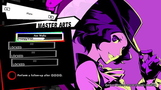 Persona 5 Strikers Master Arts Guide