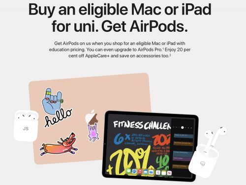Apple Launches Annual 'Back to University' Promo in Australia, New Zealand, South Korea and Brazil