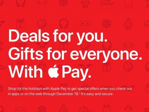 Holiday Apple Pay promotion gives special offers across twelve brands