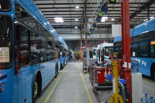 Are diesel's days numbered? A view from a trip to BYD's electric bus factory
