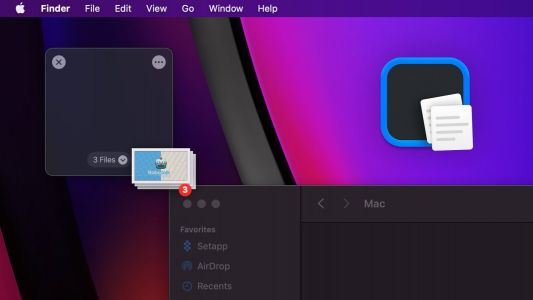 'Dropover' app enables a new drag and drop experience on your Mac