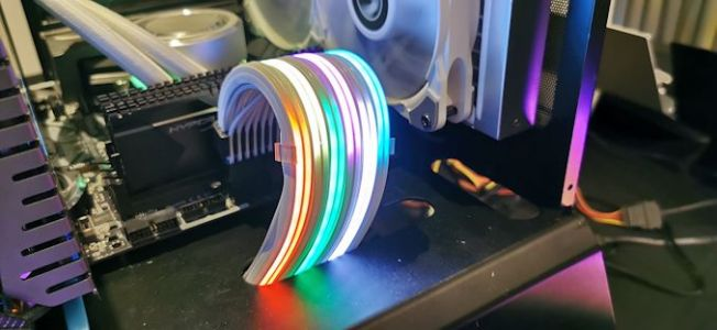 The Lian Li Strimer Plus, For When You Need an RGB 24-pin ATX Cable