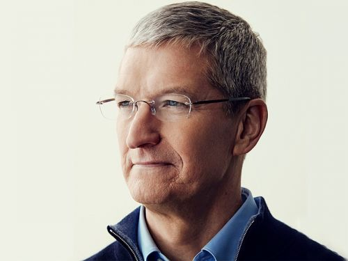 Apple CEO Tim Cook's Net Worth Exceeds $1 Billion as Apple's Stock Soars