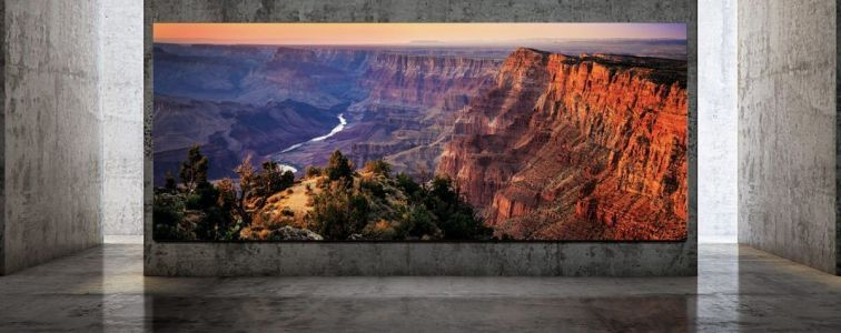 Samsung's Next-Gen 'The Wall' TV Measures 292-inches And Has An 8K Resolution
