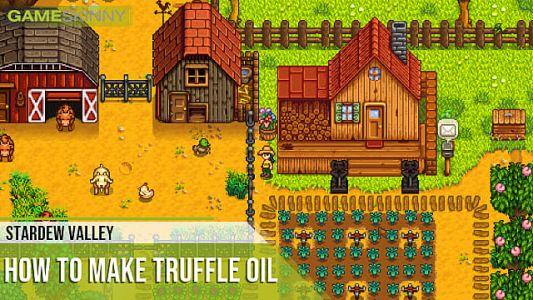 Stardew Valley: How to Make Truffle Oil