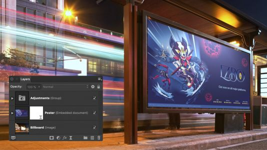 Affinity Photo, Designer, and Publisher updated to version 1.8, custom keyboard shortcuts come to iPad