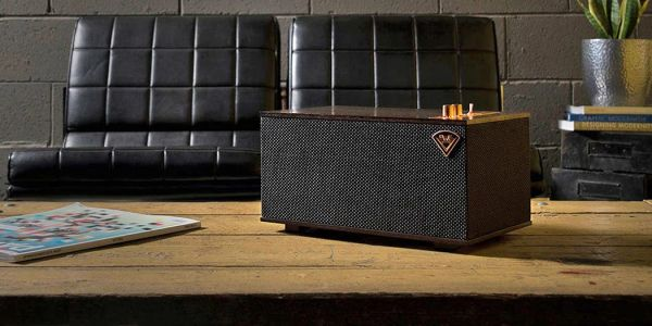 Klipsch launches two gorgeous vintage-looking speakers that include Google Assistant