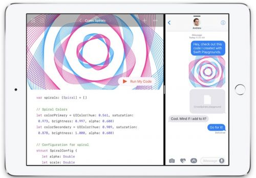 Swift Playgrounds Updated With Improved Access to Third-Party Content, Better Touch Gestures