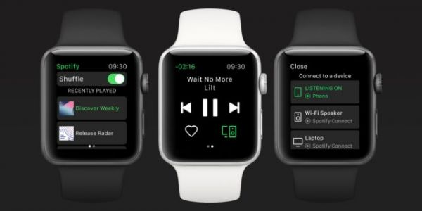 Official Spotify Apple Watch App Finally Released